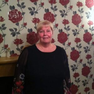 Photo of our treasurer Linda